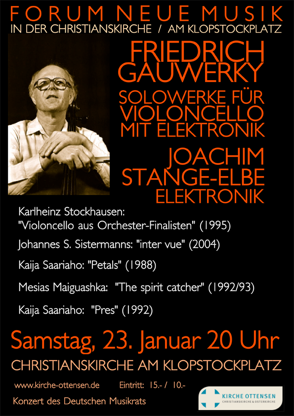 2016-01-23 in Violoncello und Live Elektronik